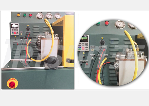 A/C Compressor Evaluation Test Machine (CETM)