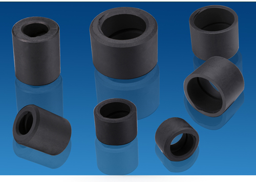 Pump Bush made in PTFE with Graphite .